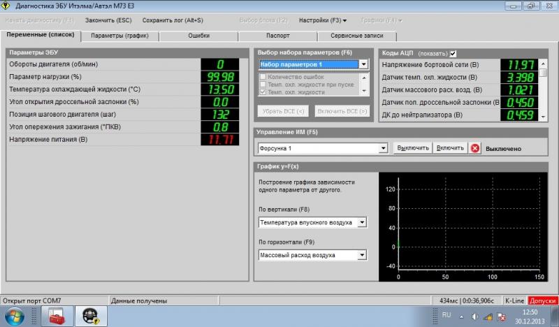 Скачать программу для сканирование ваз 2110