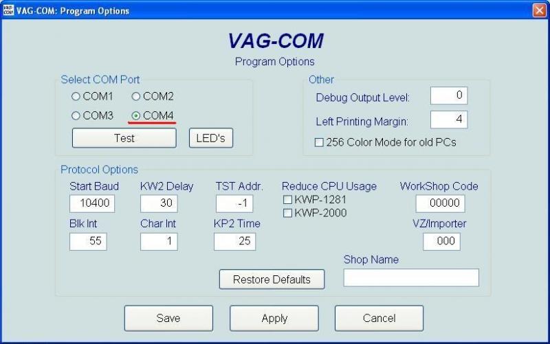 VAG Блог (Audi, Volkswagen, Skoda, Seat, Porsche): VAG Com диагностика. Считывание ошибок Audi TT (8N) Coupe рис. 3