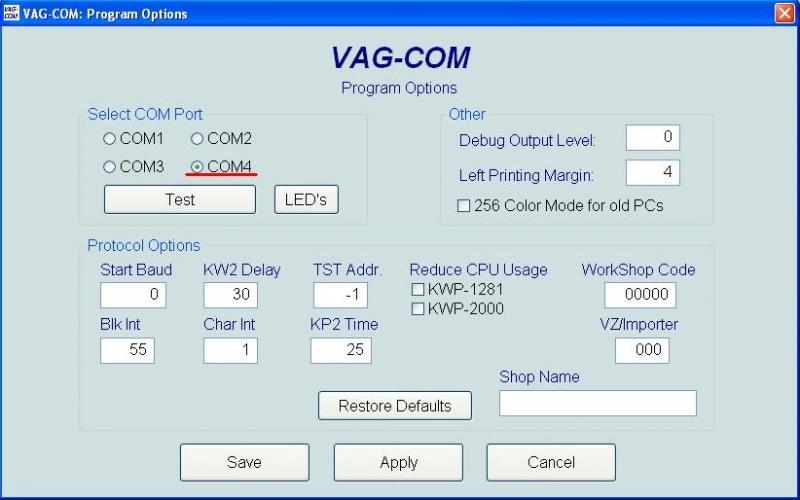 VAG Блог: Audi, Volkswagen, Skoda, Seat, Porsche: VAG Блог (Audi, Volkswagen, Skoda, Seat, Porsche): VAG Com диагностика. Кабель, программа, драйвера Audi TT (8N) Coupe рис. 10