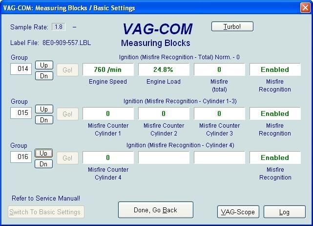 VAG Блог (Audi, Volkswagen, Skoda, Seat, Porsche): Диагностика мотора ALT 2.0 - зажигание(010-020) Audi A4 (8E) рис. 1