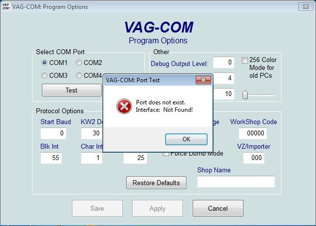 Адаптер KKL VAG COM 009.1 бери чипе FTDI. Драйвер, программа, включение Audi TT (8N) Coupe рис. 0