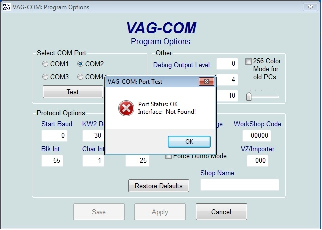 Адаптер KKL VAG COM 009.1 в чипе FTDI. Драйвер, программа, отвод Audi TT (8N) Coupe рис. 00