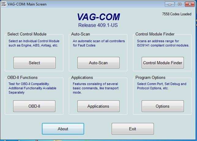 Адаптер KKL VAG COM 009.1 в чипе FTDI. Драйвер, программа, подсоединение Audi TT (8N) Coupe рис. 0